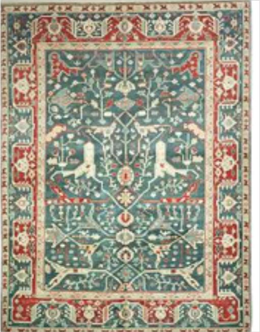 Indo-Oushak Carpets